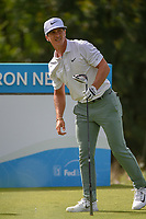 Thorbjorn Olesen (DEN) watches his tee shot on 15 during the round 1 of the AT&T Byron Nelson, Trinity Forest Golf Club, Dallas, Texas, USA. 5/9/2019.<br /> Picture: Golffile | Ken Murray<br /> <br /> <br /> All photo usage must carry mandatory copyright credit (© Golffile | Ken Murray)