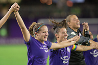 Orlando, FL - Saturday June 03, 2017: Maddy Evans during a regular season National Women's Soccer League (NWSL) match between the Orlando Pride and the Boston Breakers at Orlando City Stadium.
