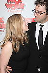 Chelsea Clinton & Mark Mezvinsky.attending the Broadway Opening Night Performance of 'Nice Work If You Can Get it' at the Imperial Theatre on 4/24/2012 at the Imperial Theatre in New York City. © Walter McBride/WM Photography .