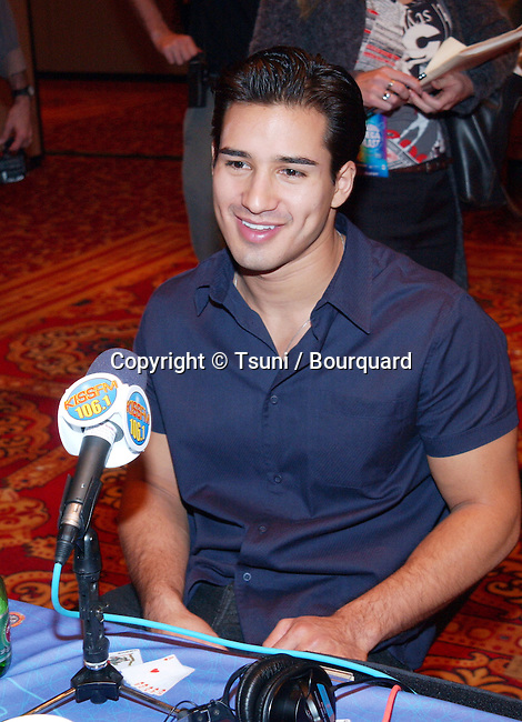 Mario Lopez at the Radio MegaBlast, a two-day event part of the Radio Music Awards that is packed with live radio broadcasts, receptions, concerts, awards ceremonies and more at the Aladdin Resort and Casino,  Thursday, Oct. 25, 2001.            -            LopezMario01.jpg