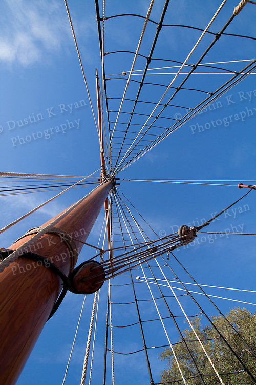 Charles Towne Landing Charleston South Carolina brigantine, ship, wooden, boat, sailboat, new adventure