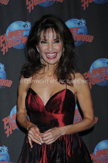 WWW.ACEPIXS.COM . . . . . ....December 18 2008, New York City....Actress Susan Lucci left her hand prints at Planet Hollywood on December 18 2008 in New York City....Please byline: KRISTIN CALLAHAN - ACEPIXS.COM.. . . . . . ..Ace Pictures, Inc:  ..tel: (212) 243 8787 or (646) 769 0430..e-mail: info@acepixs.com..web: http://www.acepixs.com