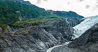 Exit Glacier on Kenai Peninsula, Alaska