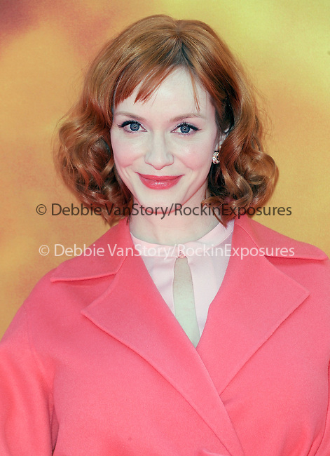 Christina Hendricks attends The DisneyToon Studios Premiere of the animated adventure The Pirate Fairy held at Walt Disney Studios Lot in Burbank, California on March 22,2014                                                                               © 2014 Hollywood Press Agency