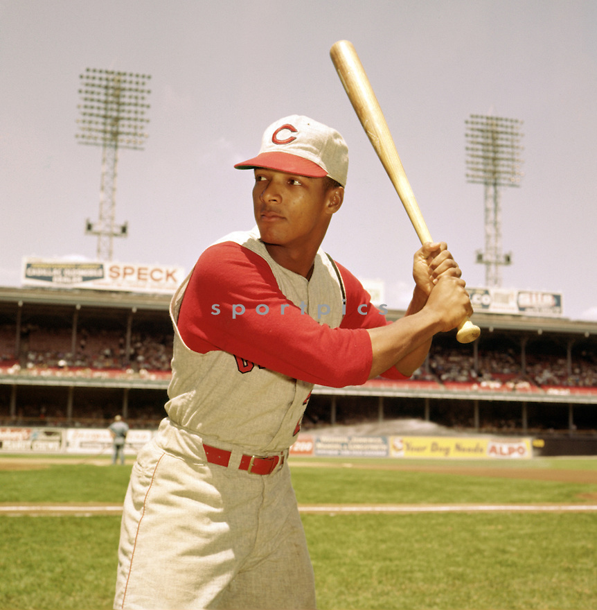Cincinnati Reds Vada Pinson (28) portrait before a game from his 1961 season against the Philadelphia Phillies at Connie Mack Stadium. Vada Pinson played for 18 years for 5 different teams,was a 2-time All-Star.(SportPics)