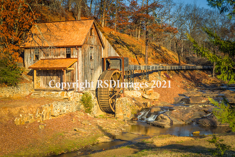 The mill at Sixes has a history as long as north Georgia itself. Before the Land Lottery of 1832 divided the Cherokee Nation up to land-greedy Georgians, a group of men lived in the area and worked in relative secracy, perhaps for ten years or more. The area is known for its gold vein (part of the vein that created the Georgia Gold Rush in 1829).