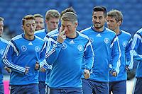 06.09.2015: Abschlusstraining der Nationalmannschaft in Glasgow