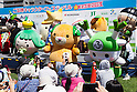 Local mascot characters attend the opening ceremony of the ''Local Characters Festival in Sumida 2015'' on May 30, 2015, Tokyo, Japan. The festival is held by Sumida ward, Tokyo Skytree town, the local shopping street and ''Welcome Sumida'' Tourism Office. Approximately 90 characters attended the festival. According to the organizers the event attracts more than 120,000 people every year. (Photo by Rodrigo Reyes Marin/AFLO)