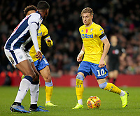 Leeds United's Ezgjan Alioski in action<br /> <br /> Photographer David Shipman/CameraSport<br /> <br /> The EFL Sky Bet Championship - West Bromwich Albion v Leeds United - Saturday 10th November 2018 - The Hawthorns - West Bromwich<br /> <br /> World Copyright © 2018 CameraSport. All rights reserved. 43 Linden Ave. Countesthorpe. Leicester. England. LE8 5PG - Tel: +44 (0) 116 277 4147 - admin@camerasport.com - www.camerasport.com