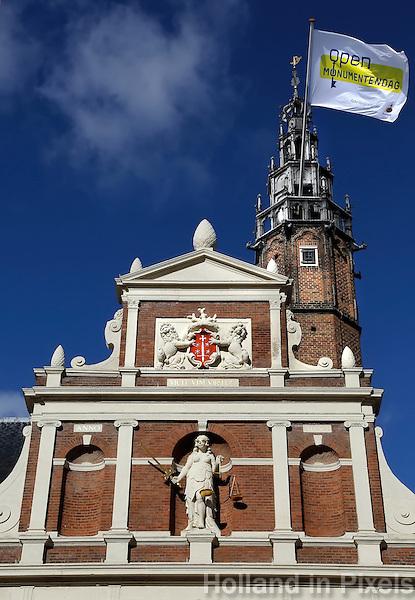Open monumenten Dag. Stadhuis van Haarlem