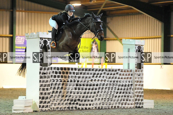 Class 9. Unaffiliated showjumping extravaganza. Brook Farm Training Centre. Essex. UK. 30/12/2018. ~ MANDATORY Credit Garry Bowden/Sportinpictures - NO UNAUTHORISED USE - 07837 394578