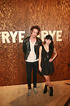 Kris Kovacs and Ellie Innocenti Attend The Frye Company Flagship Opening Celebration at the Cunard Building, NY 9/9/11