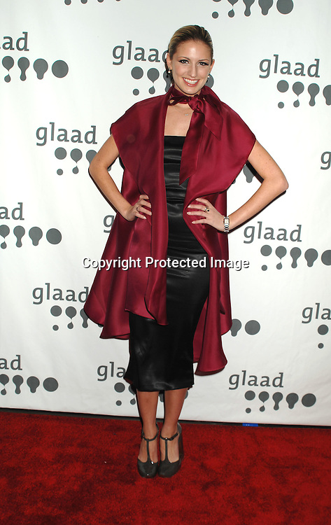 Melrose Bickerstaff, runner-up on America's Next Top Model 7..arriving at The 18th annual GLAAD Media Awards on March 26, 2007 at The Marriott Marquis Hotel in New York...Robin Platzer, Twin Images