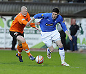 14/04/2010   Copyright  Pic : James Stewart.sct_jsp01_dundee_utd_v_rangers  .::  KYLE LAFFERTY GETS AWAY FROM GARRY KENNETH ::  .James Stewart Photography 19 Carronlea Drive, Falkirk. FK2 8DN      Vat Reg No. 607 6932 25.Telephone      : +44 (0)1324 570291 .Mobile              : +44 (0)7721 416997.E-mail  :  jim@jspa.co.uk.If you require further information then contact Jim Stewart on any of the numbers above.........