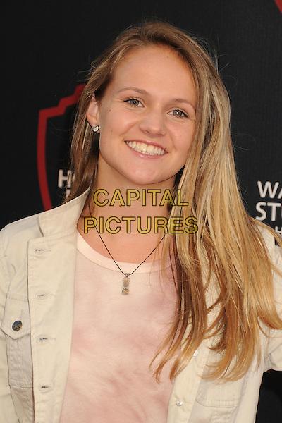 14 July 2015 - Burbank, California - Lauren Suthers. Warner Bros. Studio Tour Stage 48: Script to Screen Launch Event held at Warner Bros. Studios. <br /> CAP/ADM/BP<br /> &copy;BP/ADM/Capital Pictures