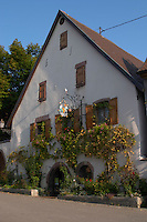 the winery domaine g humbrecht pfaffenheim alsace france