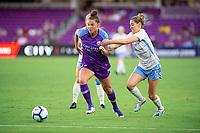 Orlando, FL - Wednesday September 11, 2019: Joanna Boyles, Morgan Brian , Orlando Pride vs  Chicago Red Stars at Exploria Stadium.