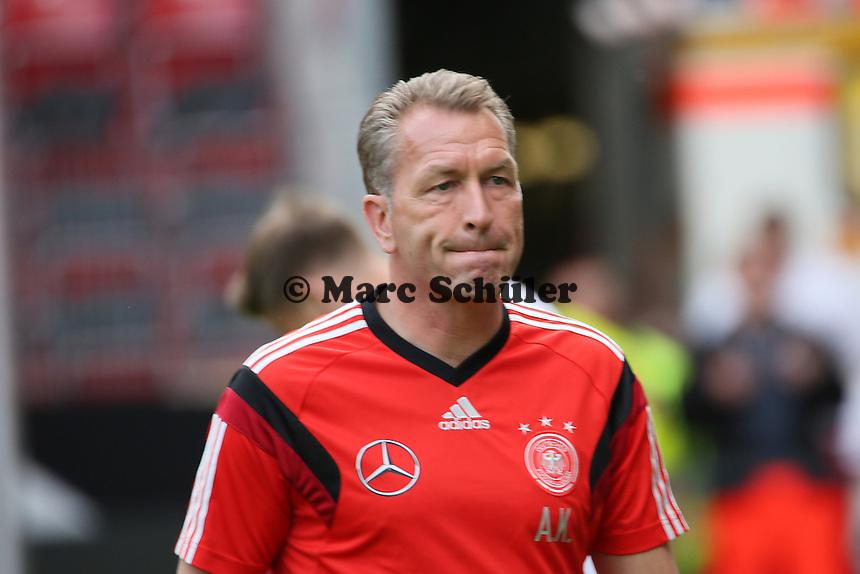 Torwarttrainer Andreas Köpke (D) - Abschusstraining Nationalmannschaft in Mainz