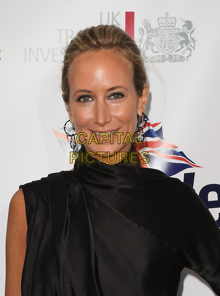 LADY VICTORIA HERVEY.5th Annual BritWeek Launch Party Held At The Los Angeles British Consulat, Los Angeles, California, USA..April 26th, 2011.headshot portrait earrings hair up beauty eyeliner black polo high neck .CAP/ADM/KB.©Kevan Brooks/AdMedia/Capital Pictures.