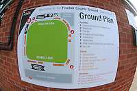 General view of the ground plan ahead of Leicestershire CCC vs Essex CCC, Specsavers County Championship Division 2 Cricket at the Fischer County Ground, Grace Road on 23rd August 2016
