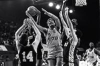 Pix:Michael Steele/SWpix...Basketball, Alexander Palace, London, 1991...COPYRIGHT PICTURE>>SIMON WILKINSON..Basketball, Alexander Palace, London..