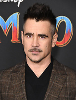 11 March 2019 - Hollywood, California - Colin Farrell. &quot;Dumbo&quot; Los Angeles Premiere held at Ray Dolby Ballroom. Photo <br /> CAP/ADM/BT<br /> &copy;BT/ADM/Capital Pictures