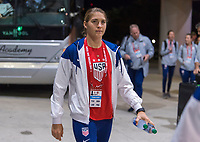 , FL - : Aubrey Bledsoe #24 of the United States walks into the stadium during a game between  at  on ,  in , Florida.