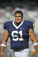 18 September 2010:  Penn State G Stefen Wisniewski (61). .The Penn State Nittany Lions defeated the Kent State Golden Flashes at Beaver Stadium in State College, PA..