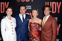 "LOS ANGELES - SEP 19:  Jessie Buckley, Rufus Sewell, Renee Zellweger, Rupert Goold at the ""Judy"" Premiere at the Samuel Goldwyn Theater on September 19, 2019 in Beverly Hills, CA"