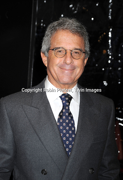 "Ron Meyer..posing for photographers at The New York Premiere of..""FROST/NIXON"" on November 17, 2008 at The Ziegfeld Theatre. ....Robin Platzer, Twin Images"