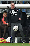 10.03.2019,  GER; 2. FBL, FC St. Pauli vs Hamburger SV ,DFL REGULATIONS PROHIBIT ANY USE OF PHOTOGRAPHS AS IMAGE SEQUENCES AND/OR QUASI-VIDEO, im Bild Trainer Michael Kauzcinski (Pauli) Foto © nordphoto / Witke