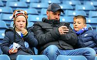 Blackburn Rovers fans wait for kick off<br /> <br /> Photographer Alex Dodd/CameraSport<br /> <br /> The EFL Sky Bet Championship - Blackburn Rovers v Queens Park Rangers - Saturday 3rd November 2018 - Ewood Park - Blackburn<br /> <br /> World Copyright &copy; 2018 CameraSport. All rights reserved. 43 Linden Ave. Countesthorpe. Leicester. England. LE8 5PG - Tel: +44 (0) 116 277 4147 - admin@camerasport.com - www.camerasport.com