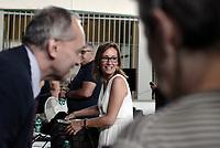 Roma, 26 Giugno 2019<br /> Ilaria Cucchi.<br /> Processo Cucchi Bis, parlano i periti della famiglia Cucchi<br /> Stefano non è morto di epilessia.