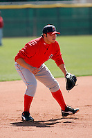 Ricky Alvarez - Los Angeles Angels - 2009 spring training.Photo by:  Bill Mitchell/Four Seam Images