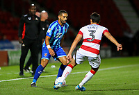 Blackpool's Liam Feeney takes on Doncaster Rovers' Reece James<br /> <br /> Photographer Alex Dodd/CameraSport<br /> <br /> The EFL Sky Bet League One - Doncaster Rovers v Blackpool - Tuesday September 17th 2019 - Keepmoat Stadium - Doncaster<br /> <br /> World Copyright © 2019 CameraSport. All rights reserved. 43 Linden Ave. Countesthorpe. Leicester. England. LE8 5PG - Tel: +44 (0) 116 277 4147 - admin@camerasport.com - www.camerasport.com