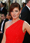 LOS ANGELES, CA. - September 20: Debra Messing arrives at the 61st Primetime Emmy Awards held at the Nokia Theatre on September 20, 2009 in Los Angeles, California.