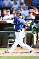 Mike Aviles, Kansas City Royals 2010 minor league spring training..Photo by:  Bill Mitchell/Four Seam Images.