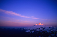Mount Baker at sunrise, Cascades, USA, June 2009