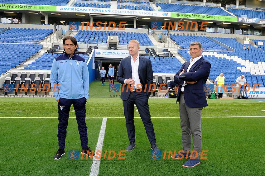 Simone Inzaghi, Angelo Peruzzi, Igli Tare<br /> 31-07-2016 Brighton, <br /> Amichevole Brighton Vs Lazio<br /> SS Lazio friendly match <br /> @ Marco Rosi / Fotonotizia / Insidefoto
