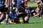 Nigel Watson dives over to score. Counties Manukau Club Rugby game between Pukekohe and Onewhero played at Colin Lawrie Fields Pukekohe on Saturday 19th March 2011..Pukekohe won 37 - 8.