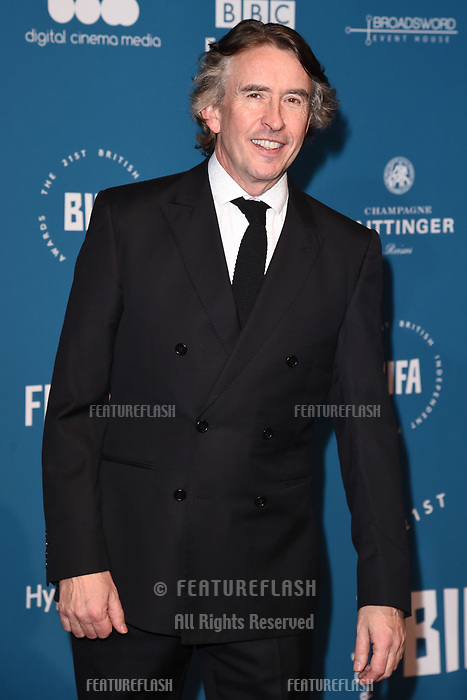 LONDON, UK. December 02, 2018: Steve Coogan at the British Independent Film Awards 2018 at Old Billingsgate, London.<br /> Picture: Steve Vas/Featureflash