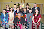 Pupils from Killury NS Causeway who were confirmed on Monday in St John's Church, Causeway by the Bishop of Kerry Bill Murphy also with the pupils was Evelyn O'Connell Teacher and Fr Brendan Walsh. Front l-r: Emma Griffin, Sophie Long, Daniel O'Halloran, Bill Murphy Bishop of Kerry, Darragh O'Connor, Adam Guerin and Andrea Harty. Back l-r: Norann Gilbert, Tamara Goggin, Evelyn O'Connell (teacher), Sinead Fealy and Fr Brendan Walsh.................................. ....