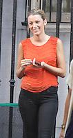 July 17, 2012 Blake Lively shooting on location for Gossip Girl  in New York City.Credit:© RW/MediaPunch Inc. /NortePhoto.com<br /> **CREDITO*OBLIGATORIO** *No*Venta*A*Terceros*.*No*Sale*So*third* ***No*Se*Permite*Hacer Archivo***No*Sale*So*third*©Imagenes*con derechos*de*autor©todos*reservados*