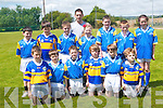 Glenflesk National School who took in the Noirin Lynch memorial tournament in Glenflesk on Friday last. .Front L-R John Kelliher, Declan Murphy, Jack O'Donoghue, Colm Murphy and Kevin Counihan. .Back L-R Dara Tagney, Craig Vas, Damien Switzer, Ellen Hickey, Evan Kissane, Diarmuid O'Donoghue, Caoimhe O'Sullivan and Principal Paul Favier.