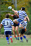 NELSON, NEW ZEALAND - MARCH 14: 2015 Pre-season club rugby Rangers v Tapawera v Riwaka on March 14, 2015. Lower Moutere, Nelson, New Zealand. (Photo by: Chris Symes Shuttersport NZ)