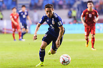 Nagatomo Yuto of Japan in action during the AFC Asian Cup UAE 2019 Quarter Finals match between Vietnam (VIE) and Japan (JPN) at Al Maktoum Stadium on 24 January 2019 in Dubai, United Arab Emirates. Photo by Marcio Rodrigo Machado / Power Sport Images