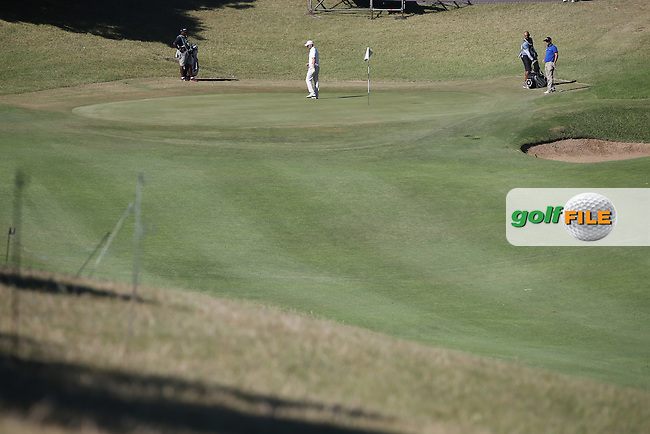 View of the 9th green during Round Three of the Africa Open 2015 at the East London Golf Club, East London, Eastern Cape, South Africa. Picture:  David Lloyd / www.golffile.ie. 07/03/2015