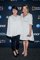 NEW YORK - APRIL 13: Kelly Vanasse and Katie Couric, Host and Executive Producer attend National Geographic's special screening of AMERICA INSIDE OUT WITH KATIE COURIC in association with Women in the World on April 13, 2018 in New York City. AMERICA INSIDE OUT WITH KATIE COURIC, a new six-part documentary series, follows Couric as she travels the country to talk with the people bearing witness to the most complicated and consequential questions in American culture today. The weekly series airs globally on National Geographic, Wednesdays, 10/9c.(Photo by Anthony Behar/NatGeo/PictureGroup)