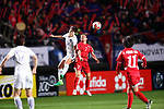 (L-R) <br /> Yoo Younga (KOR), <br /> Kim Un Hwa (PRK), <br /> DECEMBER 11, 2017 - Football / Soccer : <br /> EAFF E-1 Football Championship 2017 Women's Final match <br /> between North Korea 1-0 South Korea <br /> at Fukuda Denshi Arena in Chiba, Japan. <br /> (Photo by Naoki Nishimura/AFLO)