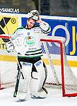Stockholm 2014-03-21 Ishockey Kvalserien AIK - R&ouml;gle BK :  <br /> R&ouml;gles Kevin Lindskoug <br /> (Foto: Kenta J&ouml;nsson) Nyckelord:  portr&auml;tt portrait